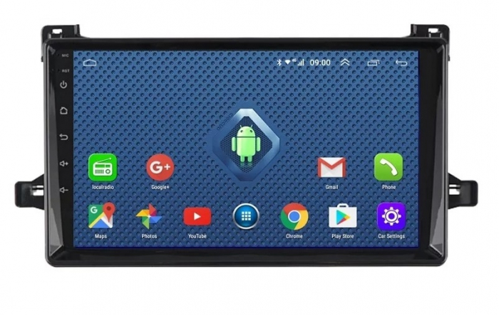 Navigatie Toyota Prius ( 2015 + ) , Android , Display 9 inch , 2GB RAM +32 GB ROM , Internet , 4G , Aplicatii , Waze , Wi Fi , Usb , Bluetooth , Mirrorlink 0