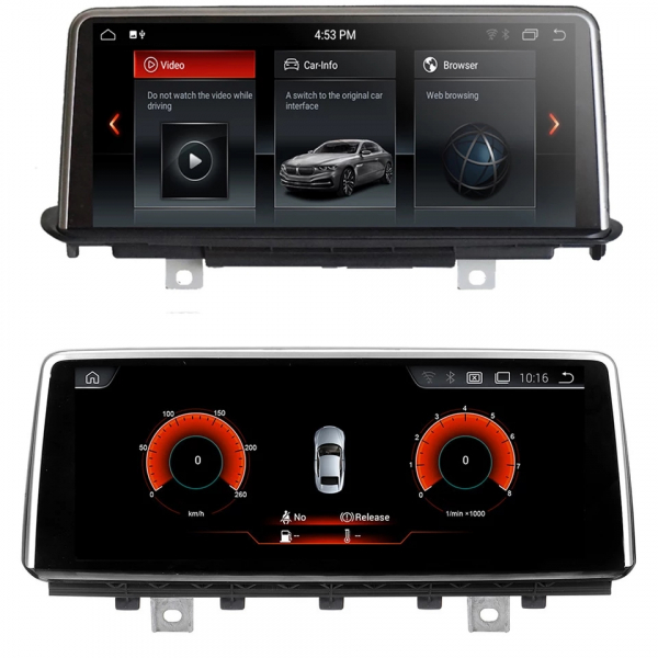Navigatie BMW X5 F15 ( 2013 - 2017 ) , NBT , Android , 4 GB RAM + 64 GB ROM , Internet , 4G , Aplicatii , Waze , Wi Fi , Usb , Bluetooth , Mirrorlink 4
