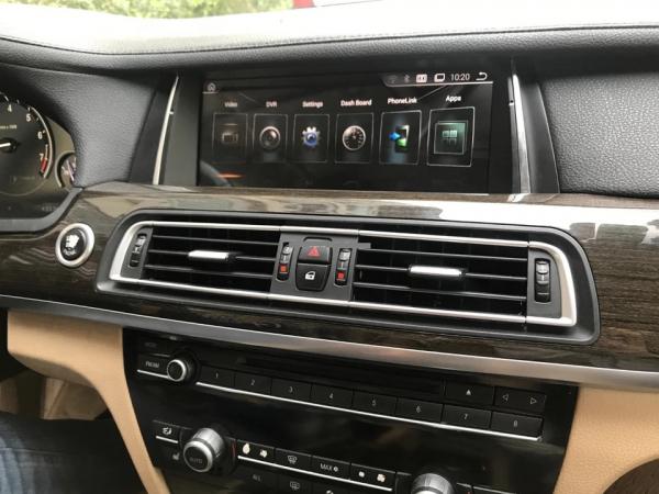 Navigatie BMW Seria 7 F01 F02 ( 2009 - 2015 ) , Android , 4 GB RAM + 64 GB ROM , Internet , 4G , Aplicatii , Waze , Wi Fi , Usb , Bluetooth , Mirrorlink 3