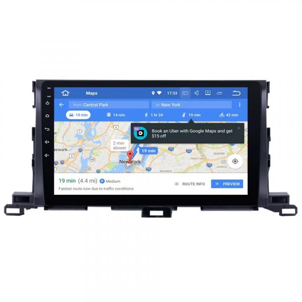 Navigatie Toyota Highlander ( 2014 - 2018 ) , Android , Display 9 inch , 2GB RAM +32 GB ROM , Internet , 4G , Aplicatii , Waze , Wi Fi , Usb , Bluetooth , Mirrorlink 5