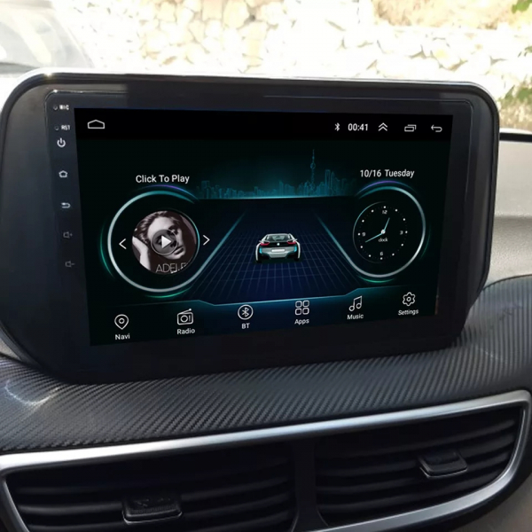 Navigatie Hyundai Tucson ( 2019 + ) , Android , Display 9 inch , 2GB RAM +32 GB ROM , Internet , 4G , Aplicatii , Waze , Wi Fi , Usb , Bluetooth , Mirrorlink 4