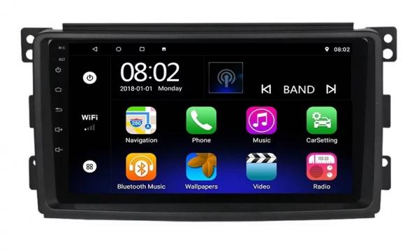 Navigatie Smart ( 2006 - 2010 ) , Android , Display 9 inch , 2GB RAM +32 GB ROM , Internet , 4G , Aplicatii , Waze , Wi Fi , Usb , Bluetooth , Mirrorlink 0