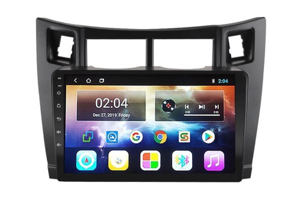 Navigatie Toyota Yaris ( 2005 - 2012 ) , Android , Display 9 inch , 2GB RAM +32 GB ROM , Internet , 4G , Aplicatii , Waze , Wi Fi , Usb , Bluetooth , Mirrorlink 2