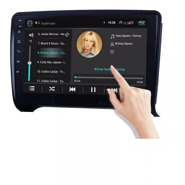 Navigatie Audi TT ( 2006 - 2012 ) , Android , Display 9 inch , 2GB RAM +32 GB ROM , Internet , 4G , Aplicatii , Waze , Wi Fi , Usb , Bluetooth , Mirrorlink 3