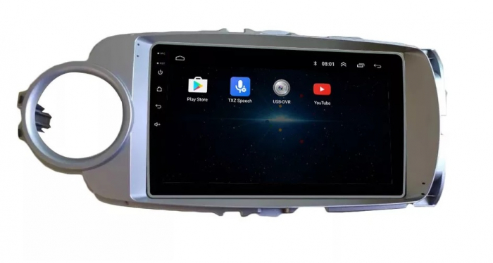 Navigatie Toyota Yaris ( 2010 - 2018 ) , Android , Display 9 inch , 2GB RAM +32 GB ROM , Internet , 4G , Aplicatii , Waze , Wi Fi , Usb , Bluetooth , Mirrorlink [2]