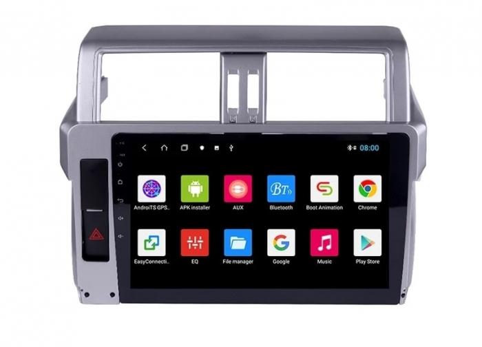Navigatie Toyota Land Cruiser ( 2014 - 2017 ) , Android , Display 9 inch , 2GB RAM +32 GB ROM , Internet , 4G , Aplicatii , Waze , Wi Fi , Usb , Bluetooth , Mirrorlink [0]