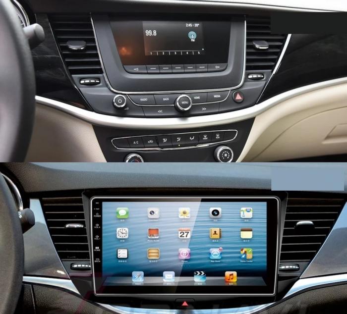 Navigatie Opel Astra K ( 2015 + ) , Android , Display 9 inch , 2GB RAM +32 GB ROM , Internet , 4G , Aplicatii , Waze , Wi Fi , Usb , Bluetooth , Mirrorlink [2]