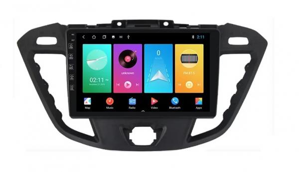 Navigatie Ford Transit ( 2012 - 2019 ) , Android , Display 9 inch , 2GB RAM +32 GB ROM , Internet , 4G , Aplicatii , Waze , Wi Fi , Usb , Bluetooth , Mirrorlink 3