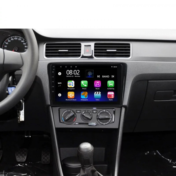 Navigatie Skoda Rapid ( 2013 - 2018 ) , Android , Display 9 inch , 2GB RAM +32 GB ROM , Internet , 4G , Aplicatii , Waze , Wi Fi , Usb , Bluetooth , Mirrorlink 1
