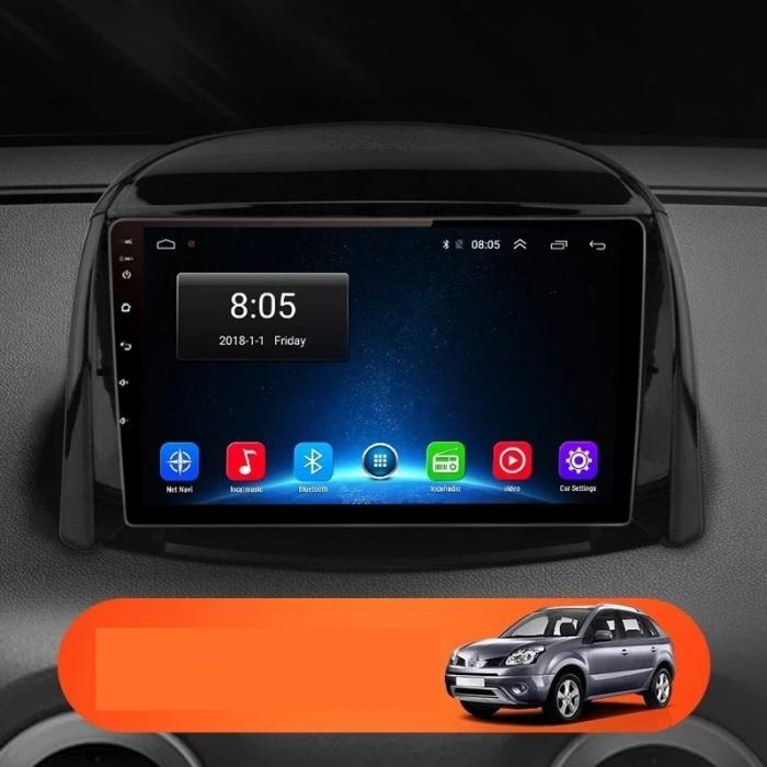 Navigatie Renault Koleos ( 2008 - 2016 ) , Android , Display 9 inch , 2GB RAM +32 GB ROM , Internet , 4G , Aplicatii , Waze , Wi Fi , Usb , Bluetooth , Mirrorlink [2]