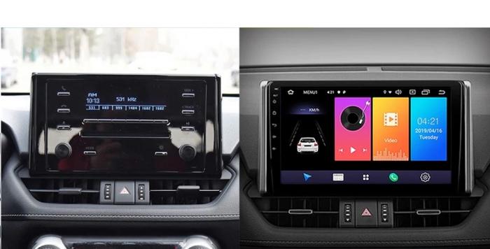 Navigatie Toyota Rav 4 ( 2018 + ) , Android , Display 9 inch , 2GB RAM +32 GB ROM , Internet , 4G , Aplicatii , Waze , Wi Fi , Usb , Bluetooth , Mirrorlink [1]