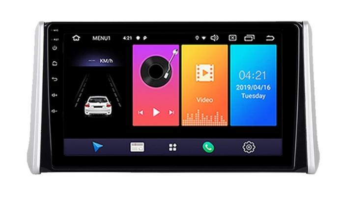 Navigatie Toyota Rav 4 ( 2018 + ) , Android , Display 9 inch , 2GB RAM +32 GB ROM , Internet , 4G , Aplicatii , Waze , Wi Fi , Usb , Bluetooth , Mirrorlink [0]