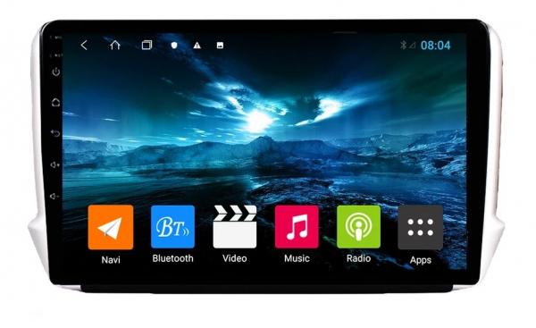 Navigatie Peugeot 208 / 2008 ( 2012 - 2020 ) , Android , Display 10 inch , 2GB RAM +32 GB ROM , Internet , 4G , Aplicatii , Waze , Wi Fi , Usb , Bluetooth , Mirrorlink 0