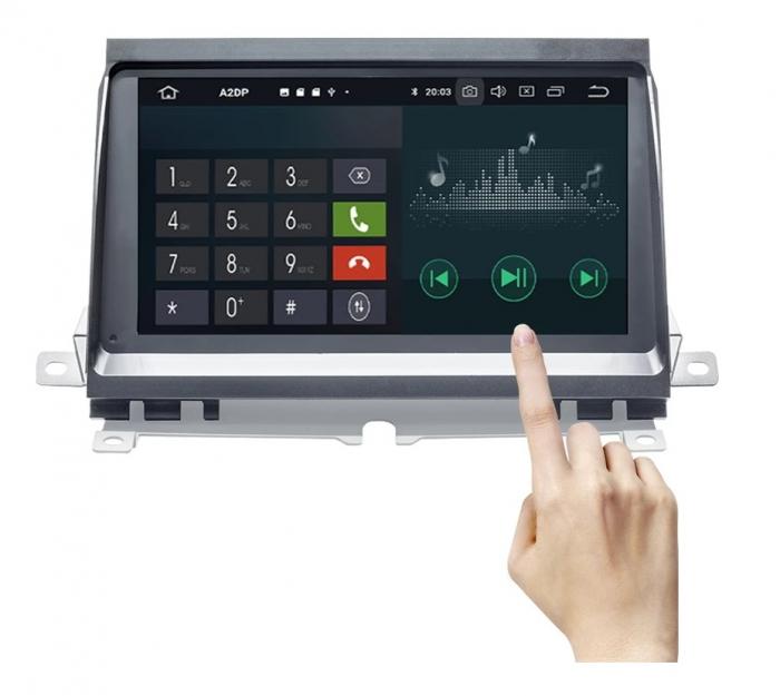 Navigatie Land Rover Discovery 3 ( 2004 - 2009 ) , Android , 2GB RAM si 32 GB ROM , Internet , 4G , Aplicatii , Waze , Wi Fi , Usb , Bluetooth , Mirrorlink [3]