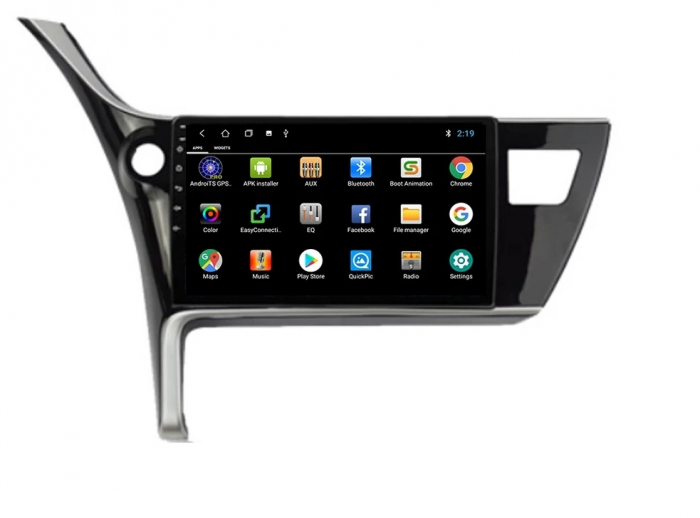 Navigatie Toyota Corolla ( 2017 - 2020 ) , Android , Display 9 inch , 2GB RAM +32 GB ROM , Internet , 4G , Aplicatii , Waze , Wi Fi , Usb , Bluetooth , Mirrorlink [3]