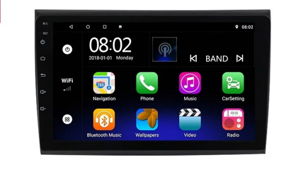 Navigatie Fiat Bravo ( 2007 - 2012 ) , Android , Display 9 inch , 2GB RAM +32 GB ROM , Internet , 4G , Aplicatii , Waze , Wi Fi , Usb , Bluetooth , Mirrorlink 5