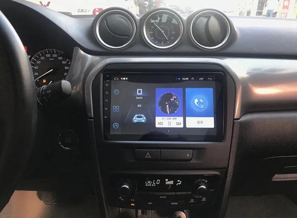 Navigatie Suzuki Grand Vitara ( 2016 + ) , Android , Display 9 inch , 2GB RAM +32 GB ROM , Internet , 4G , Aplicatii , Waze , Wi Fi , Usb , Bluetooth , Mirrorlink 2