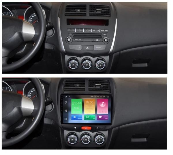 Navigatie Mitsubishi ASX ( 2010 - 2019 ) , Android , Display 9 inch , 2GB RAM +32 GB ROM , Internet , 4G , Aplicatii , Waze , Wi Fi , Usb , Bluetooth , Mirrorlink 3