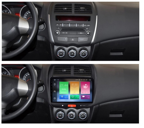 Navigatie Citroen C4 Aircross , Android , Display 9 inch , 2GB RAM +32 GB ROM , Internet , 4G , Aplicatii , Waze , Wi Fi , Usb , Bluetooth , Mirrorlink 4