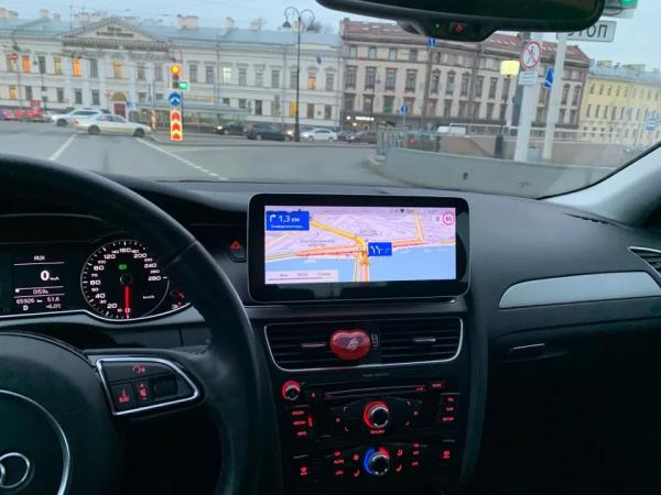 """Navigatie Audi A4 A5 B8 ( 2009 - 2016) ,  Audi MMI 3G , Android , 4GB RAM +64 GB ROM , Slot Sim 4G LTE , Display 10.25 """" rez 1920*720 , Procesor Octa Core , Internet 7"""