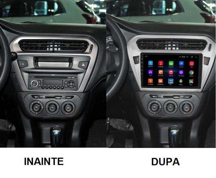 Navigatie Peugeot 301 Citroen C Elysee ( 2012 + ) , 4 GB RAM + 64 GB ROM , Slot Sim 4G pentru Internet , Carplay , Android , Aplicatii , Usb , Wi Fi , Bluetooth [4]