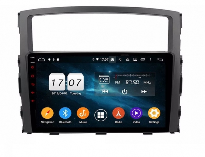 Navigatie Mitsubishi Pajero ( 2006 - 2018 ) , Android , Display 9 inch , 2GB RAM +32 GB ROM , Internet , 4G , Aplicatii , Waze , Wi Fi , Usb , Bluetooth , Mirrorlink 0