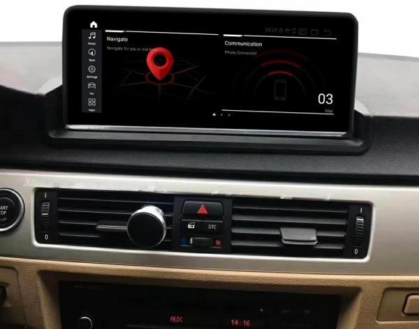 Navigatie BMW Seria 3 E90 ( 2005 - 2013 ) , Android , 4 GB RAM + 32 GB ROM , Internet , 4G , Youtube , Waze , Wi Fi , Usb , Bluetooth , Mirrorlink 1