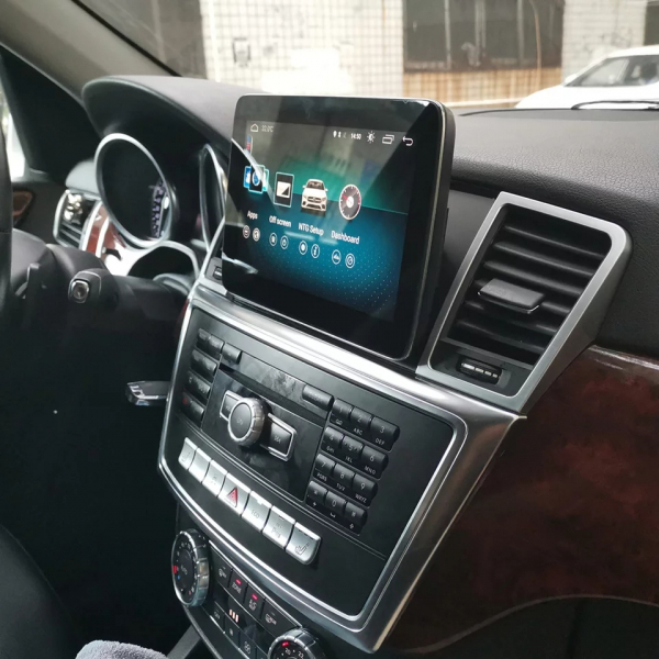 Navigatie Mercedes ML GL W166 ( 2012 - 2015) , Android , NTG 4.0 , 4GB RAM + 64 GB ROM , Slot Sim 4G LTE , Procesor Octa Core , Internet , Aplicatii , Waze , Wi Fi , Usb , Bluetooth , Mirrorlink 5