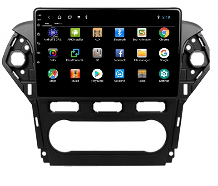Navigatie Ford Mondeo ( 2010 - 2014 ) , Android , Display 9 inch , 2GB RAM +32 GB ROM , Internet , 4G , Aplicatii , Waze , Wi Fi , Usb , Bluetooth , Mirrorlink [1]