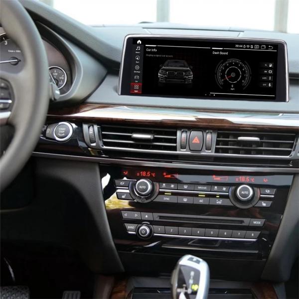 Navigatie BMW X6 F16 ( 2013 - 2017 ) , NBT , Android , 4 GB RAM + 64 GB ROM , Internet , 4G , Aplicatii , Waze , Wi Fi , Usb , Bluetooth , Mirrorlink 4