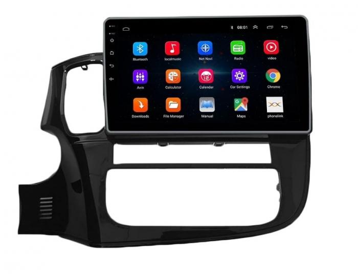 Navigatie Mitsubishi Outlander 3 ( 2013 - 2018 ) , Android , Display 9 inch , 2GB RAM +32 GB ROM , Internet , 4G , Aplicatii , Waze , Wi Fi , Usb , Bluetooth , Mirrorlink 0