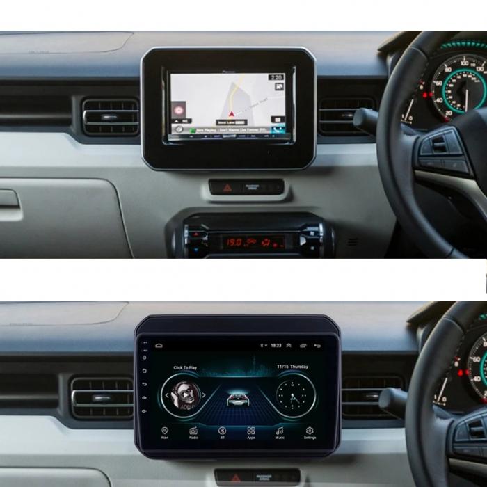 Navigatie Suzuki Ignis ( 2016 - 2020 ) , Android , Display 9 inch , 2GB RAM +32 GB ROM , Internet , 4G , Aplicatii , Waze , Wi Fi , Usb , Bluetooth , Mirrorlink [1]