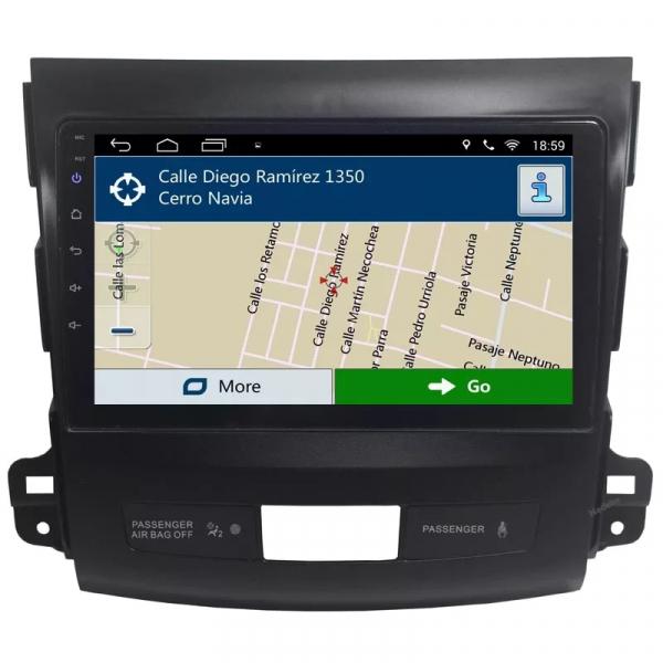 Navigatie Mitsubishi Outlander ( 2006 - 2014 ) , Android , Display 9 inch , 2GB RAM +32 GB ROM , Internet , 4G , Aplicatii , Waze , Wi Fi , Usb , Bluetooth , Mirrorlink 3