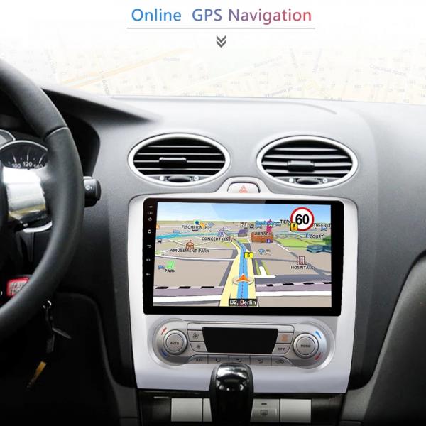 Navigatie Ford Focus ( 2004 - 2011 ) , Android , Clima Manuala , Display 9 inch , 2GB RAM +32 GB ROM , Internet , 4G , Aplicatii , Waze , Wi Fi , Usb , Bluetooth , Mirrorlink 2