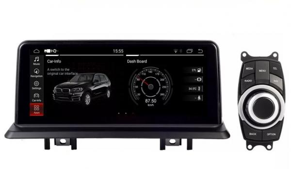 Navigatie BMW Seria 1 E87 ( 2005 - 2012 ) , Android , 4 GB RAM + 64 GB ROM , Internet , 4G , Youtube , Waze , Wi Fi , Usb , Bluetooth , Mirrorlink 6