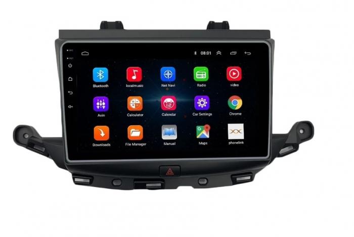 Navigatie Opel Astra K ( 2015 + ) , Android , Display 9 inch , 2GB RAM +32 GB ROM , Internet , 4G , Aplicatii , Waze , Wi Fi , Usb , Bluetooth , Mirrorlink [1]