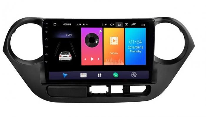 Navigatie Hyundai i10 ( 2013 - 2017 ) , Android , Display 9 inch , 2 GB RAM si 32 GB ROM , Internet , 4G , Aplicatii , Waze , Wi Fi , Usb , Bluetooth , Mirrorlink [0]