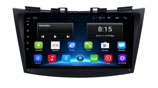 Navigatie Suzuki Swift ( 2010 - 2017 ) , Android , Display 9 inch , 2GB RAM +32 GB ROM , Internet , 4G , Aplicatii , Waze , Wi Fi , Usb , Bluetooth , Mirrorlink 0