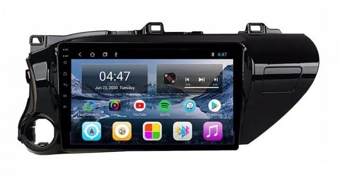 Navigatie Toyota Hilux ( 2015 - 2020 ) , Android , Display 9 inch , 2GB RAM +32 GB ROM , Internet , 4G , Aplicatii , Waze , Wi Fi , Usb , Bluetooth , Mirrorlink 1
