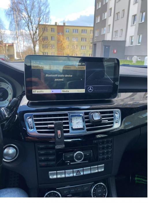 """Navigatie Mercedes CLS W218 ( 2011 - 2015 ) , 4 GB RAM si 64 GB ROM , Slot Sim 4G , Android , Display 10.25 """" rezolutie 1920*720 , Internet , Wi Fi , Usb , Bluetooth [2]"""