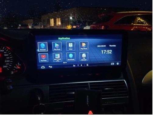 """Navigatie Audi A6 ( 2005 - 2011 ) MMI , 4 GB RAM si 64 GB ROM , Slot Sim 4G , Android , Display 10.25 """" , Internet , Wi Fi , Usb , Bluetooth [4]"""