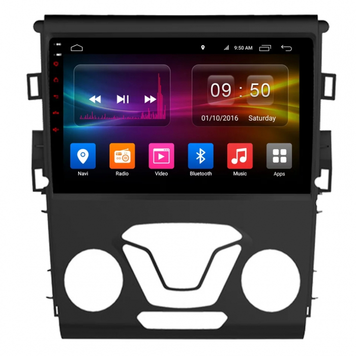 Navigatie Ford Mondeo ( 2013 + ) , 4 GB RAM + 64 GB ROM , Slot Sim 4G pentru Internet , Carplay , Android , Aplicatii , Usb , Wi Fi , Bluetooth [0]