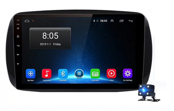 Navigatie Smart ( 2014 + ) , Android , Display 9 inch , 2GB RAM +32 GB ROM , Internet , 4G , Aplicatii , Waze , Wi Fi , Usb , Bluetooth , Mirrorlink 2