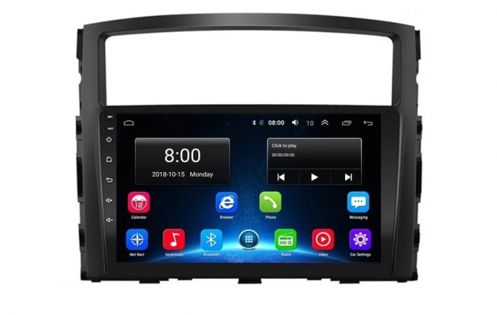 Navigatie Mitsubishi Pajero ( 2006 - 2018 ) , Android , Display 9 inch , 2GB RAM +32 GB ROM , Internet , 4G , Aplicatii , Waze , Wi Fi , Usb , Bluetooth , Mirrorlink 1