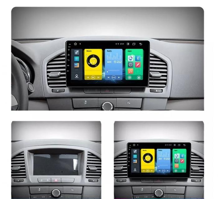 Navigatie Opel Insignia ( 2008 - 2013 ) , Android , 2GB RAM + 32 GB ROM , Internet , 4G , Aplicatii , Waze , Wi Fi , Usb , Bluetooth , Mirrorlink 3