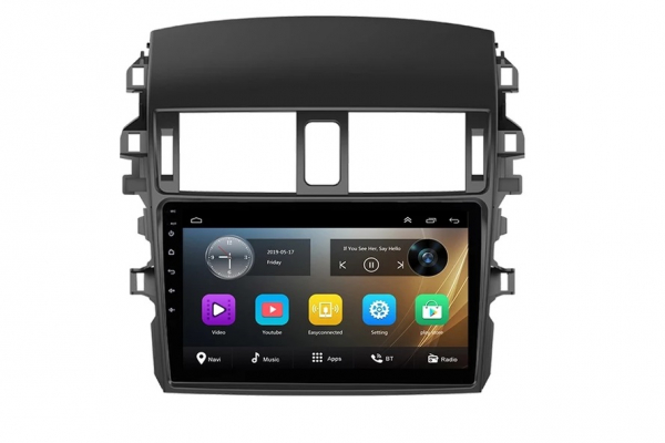 Navigatie Toyota Corolla ( 2006 - 2013 ) , Android , Display 9 inch , 2GB RAM +32 GB ROM , Internet , 4G , Aplicatii , Waze , Wi Fi , Usb , Bluetooth , Mirrorlink 0