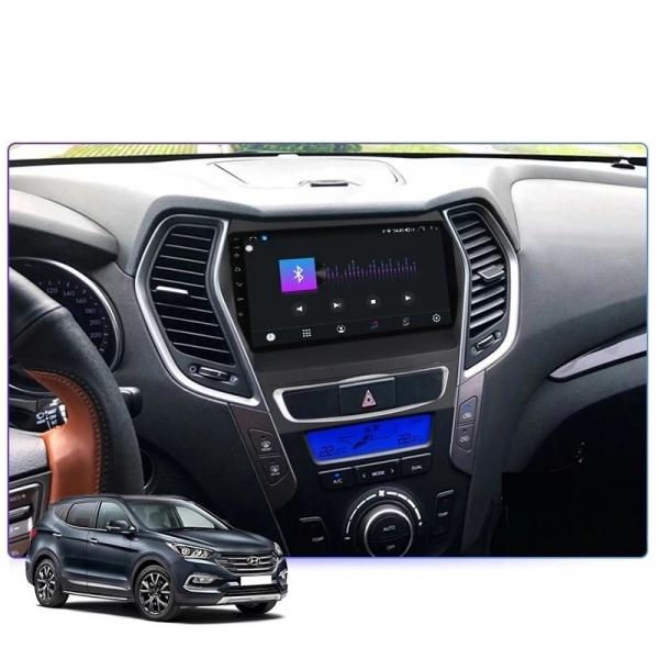 Navigatie Hyundai Santa Fe ix 45 ( 2012 - 2017 ) , Android , Display 9 inch , 2GB RAM +32 GB ROM , Internet , 4G , Aplicatii , Waze , Wi Fi , Usb , Bluetooth , Mirrorlink [3]