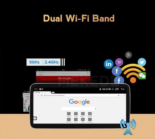 "Navigatie Mercedes E Class W212 ( 2012 - 2014) ,  Android , NTG 4.5 , 4GB RAM + 64 GB ROM , Slot Sim 4G LTE , Display 10.25 "" rez 1920*720 , Procesor Octa Core , Internet , Aplicatii , Waze , Wi Fi , 5"