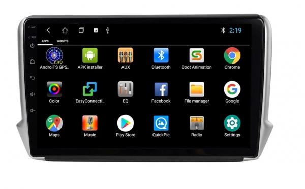 Navigatie Peugeot 208 / 2008 ( 2012 - 2020 ) , Android , Display 10 inch , 2GB RAM +32 GB ROM , Internet , 4G , Aplicatii , Waze , Wi Fi , Usb , Bluetooth , Mirrorlink 6