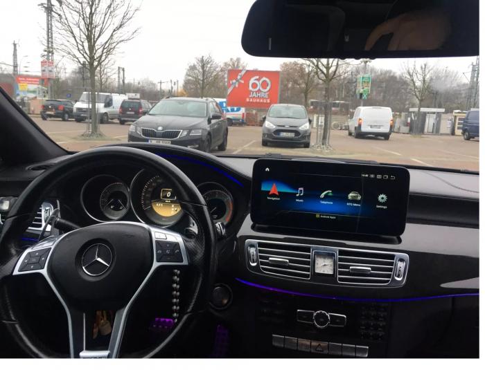 """Navigatie Mercedes CLS W218 ( 2011 - 2015 ) , 4 GB RAM si 64 GB ROM , Slot Sim 4G , Android , Display 10.25 """" rezolutie 1920*720 , Internet , Wi Fi , Usb , Bluetooth [3]"""